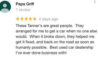 """ Best used car dealership ever """